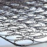 Fotografía detalle de la estructura de muelles